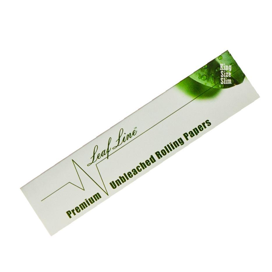 Leaf Line Natural Unbleached King Size &Bull; 2021