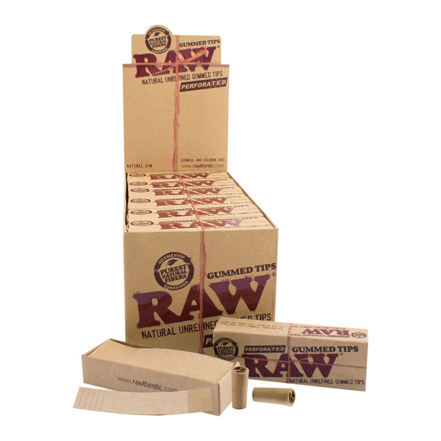 Raw Tips – Gummed Perforated &Bull; 2021