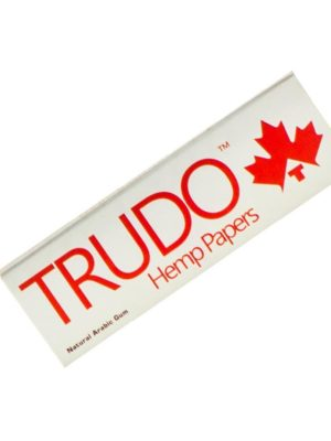 TRUDO 100% PURE HEMP FIBRES ROLLING PAPERS