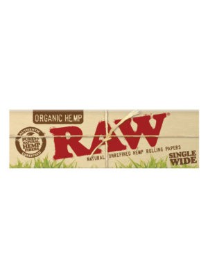 RAW ORGANIC HEMP SW SINGLE WINDOW