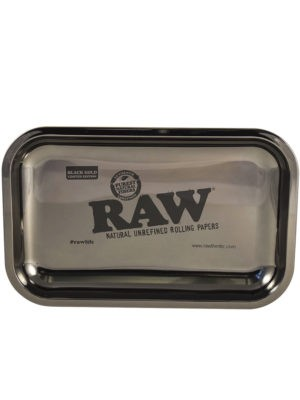 Raw Black Gold Tray