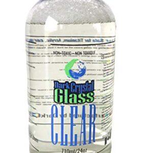 Dark Crystal Glass Clear 710ml