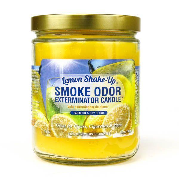 Smoke Odor 13oz Candle Lemon Shake-Up