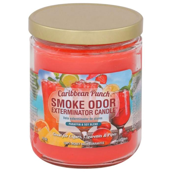 Smoke Odor 13oz Candle Caribbean Punch