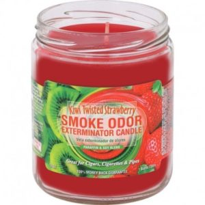 Smoke Odor 13oz Candle Kiwi Twisted Strawberry