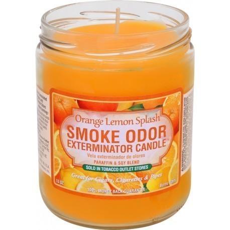 Smoke Odor 13oz Candle Orange Lemon Splash