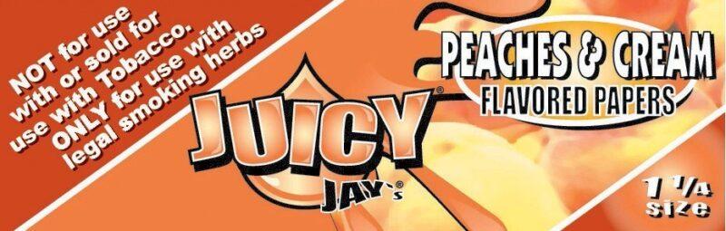 Juicy Jays 1 1/4 Peaches &Amp; Cream