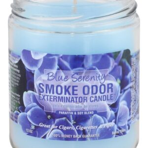 Smoke Odor Blue Serenity