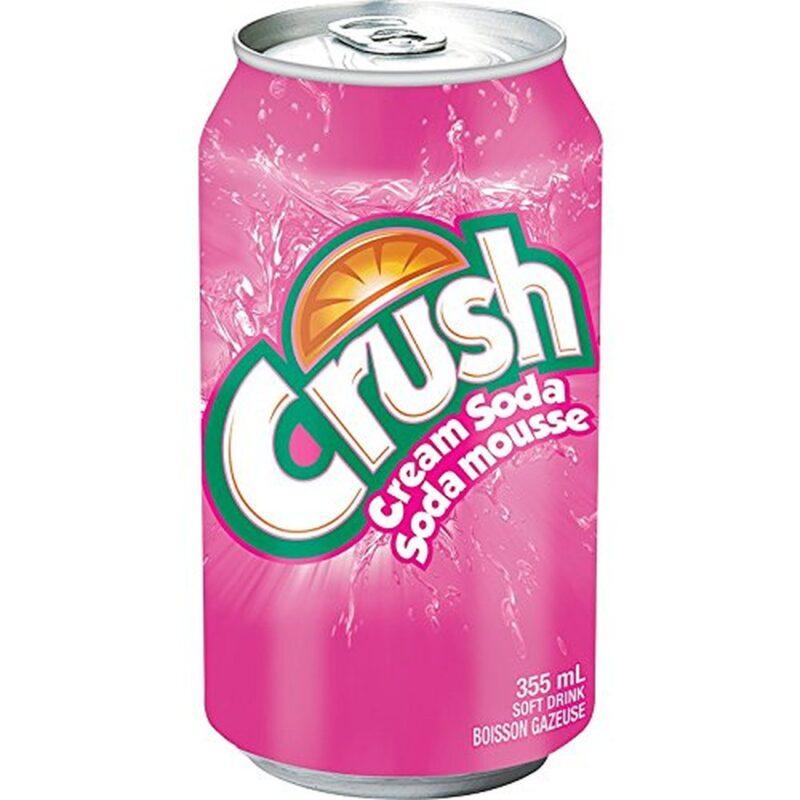 Crush cream soda