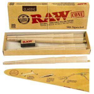 RAW 98 Special Cones