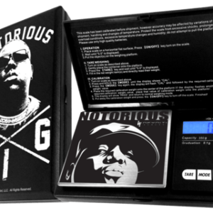 NOTORIOUS BIG G-FORCE SCALE, 100G X 0.01G