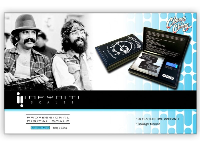 CHEECH AND CHONG G-FORCE SCALE, 100G X 0.01G