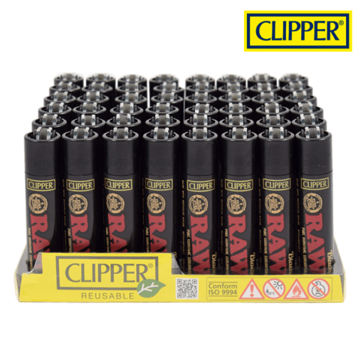 CLIPPER RAW BLACK LIGHTERS COLLECTION