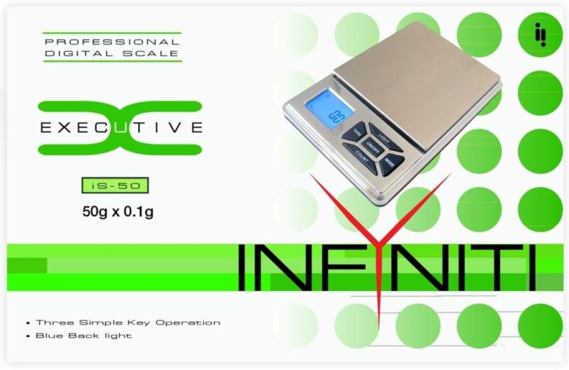 Executive Scale 50G x 0.01G