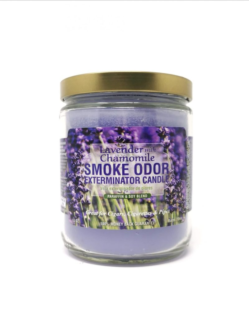 Smoke Odor Lavender & Chamomile 13oz Candle