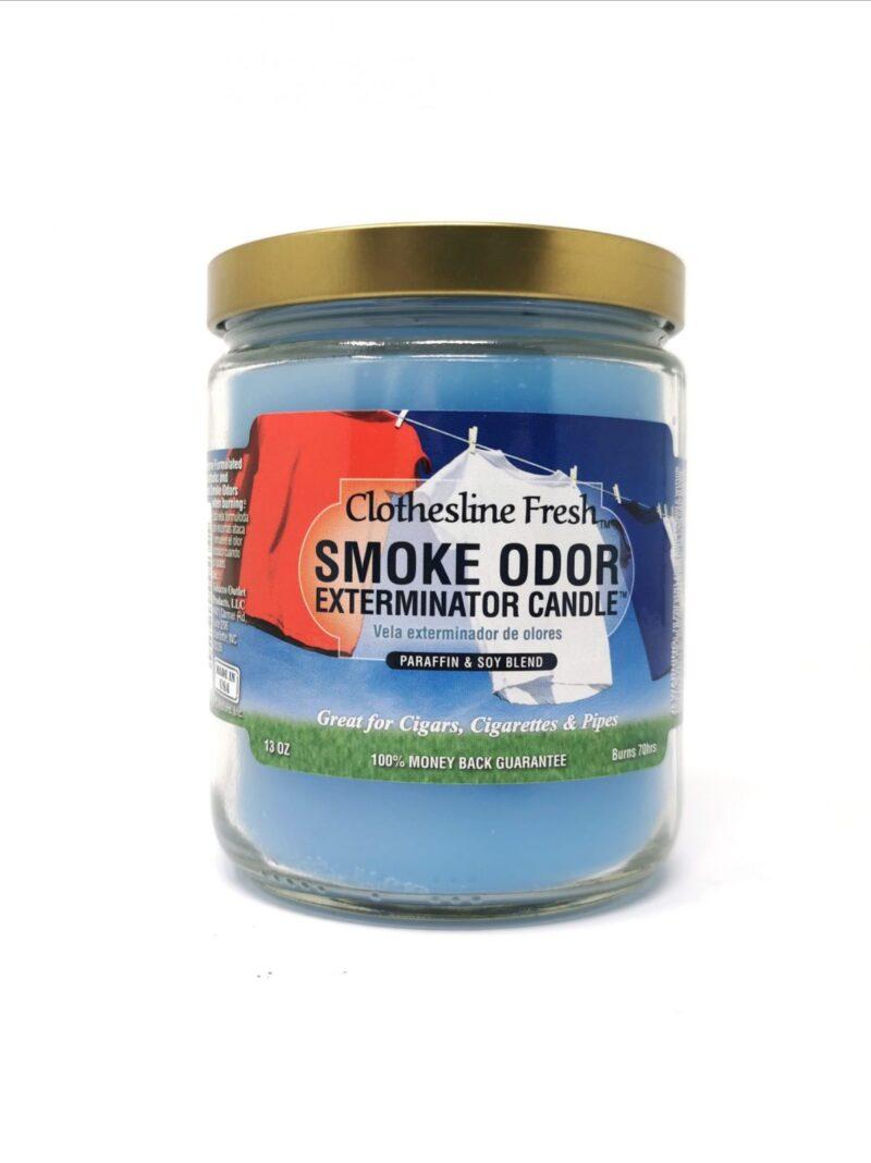 Smoke Odor Clothesline Fresh 13oz Candle