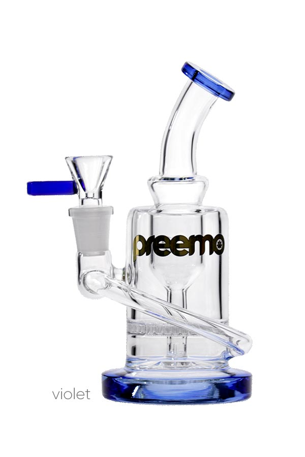 6.5 inch Honeycomb Bubbler(P070)