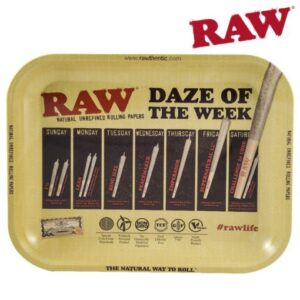 RAW DAZE OF THE WEEK TRAY – LARGE