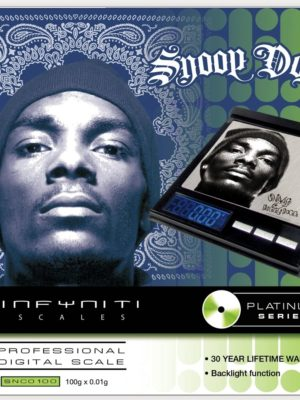SNOOP DOGG CD SCALE, 100G X 0.01G