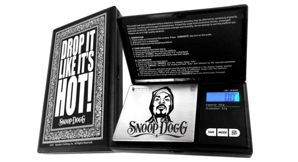 SNOOP DOGG G-FORCE SCALE, 100G X 0.01G