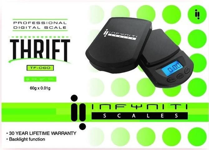 Thrift Scale 60G X 0.01G &Bull; 2021