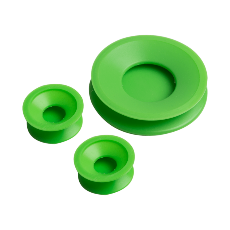 RES CAPS Bong Cleaning Caps - Green