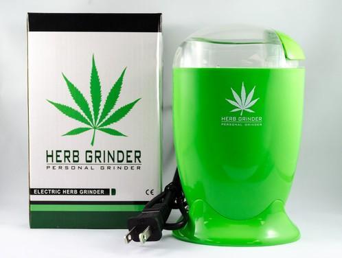 Electric Herb Grinder &Bull; 2021