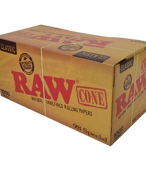 RAW CLASSIC PRE-ROLLED CONE 98 SELECT BULK 1,000