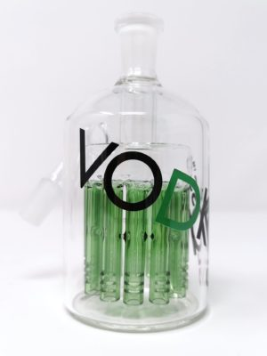 Vodka 12-ARM Ash Catcher 14MM 45DEG - Green