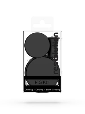 RIG KIT CAPS® Rig Cleaning Caps - Black