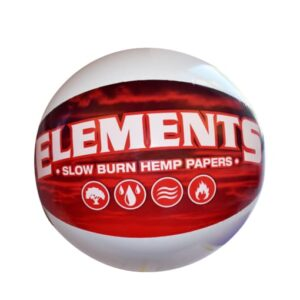ELEMENTS RED BEACH BALL