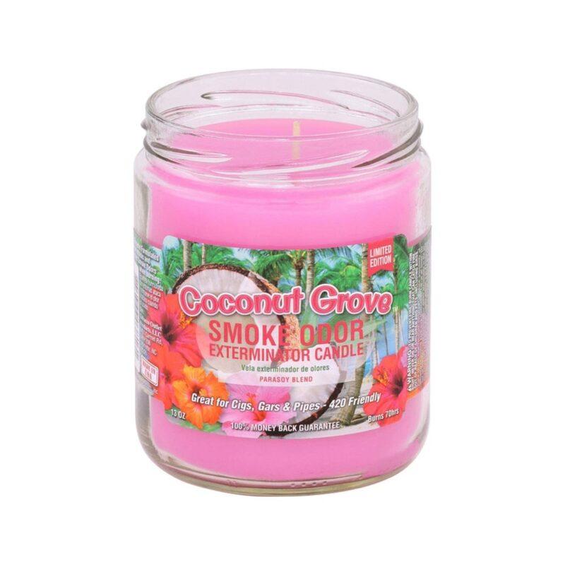 Smoke Odor 13oz. Candle - Cool Cucumber & Honeydew