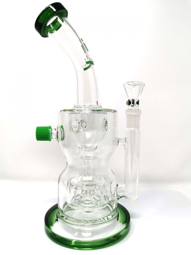 Infinity upward shower recycler