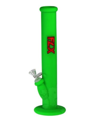 FLX Silicone Transistor Bong - Green