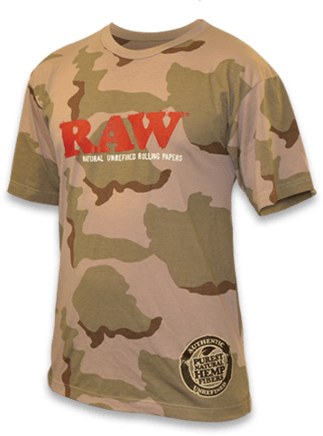 Raw Camo T-Shirt &Bull; 2021