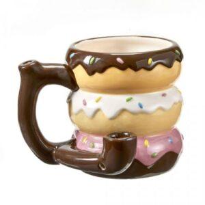 Donut Mug Pipe