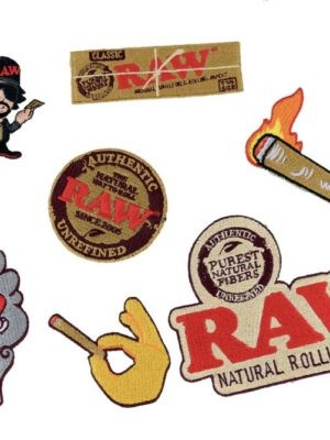RAW SMOKERS PATCH
