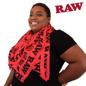 RAW HIGH-FASHION SCARF RED
