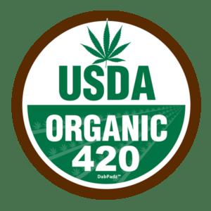 DabPadz™ 8″ USDA Organic 420