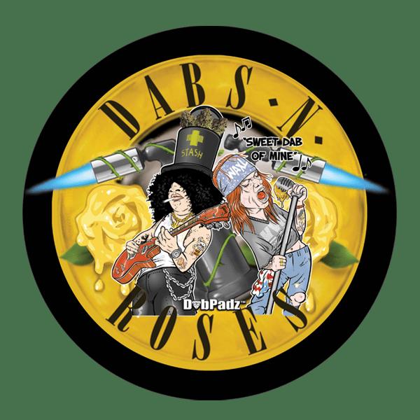 DabPadz™ 8″ Dabs N' Roses