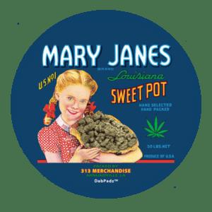 DabPadz™ 8″ Mary Janes