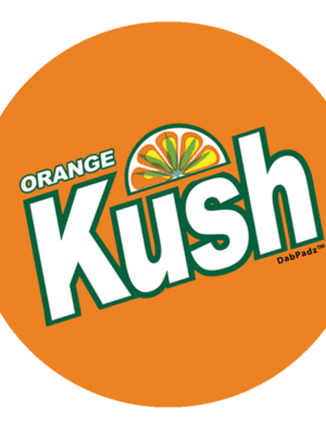 DabPadz™ 8″ Orange Kush