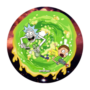 DabPadz™ 8″ Rick and Morty Dab Portal