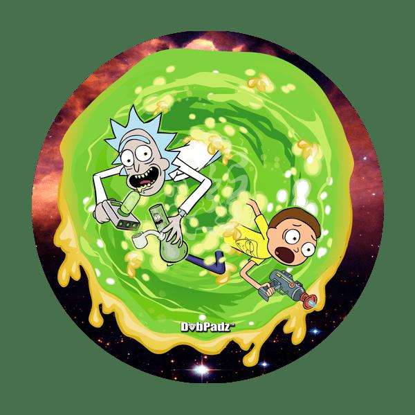 DabPadz™ 8″ Rick and Morty Dab Portal