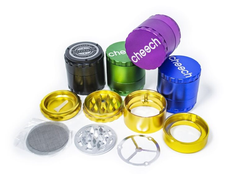 Cheech 63MM 4 PCS GRINDER
