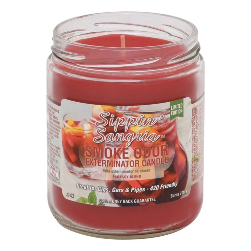 Smoke Odor 13oz. Candle - Sippin' Sangria