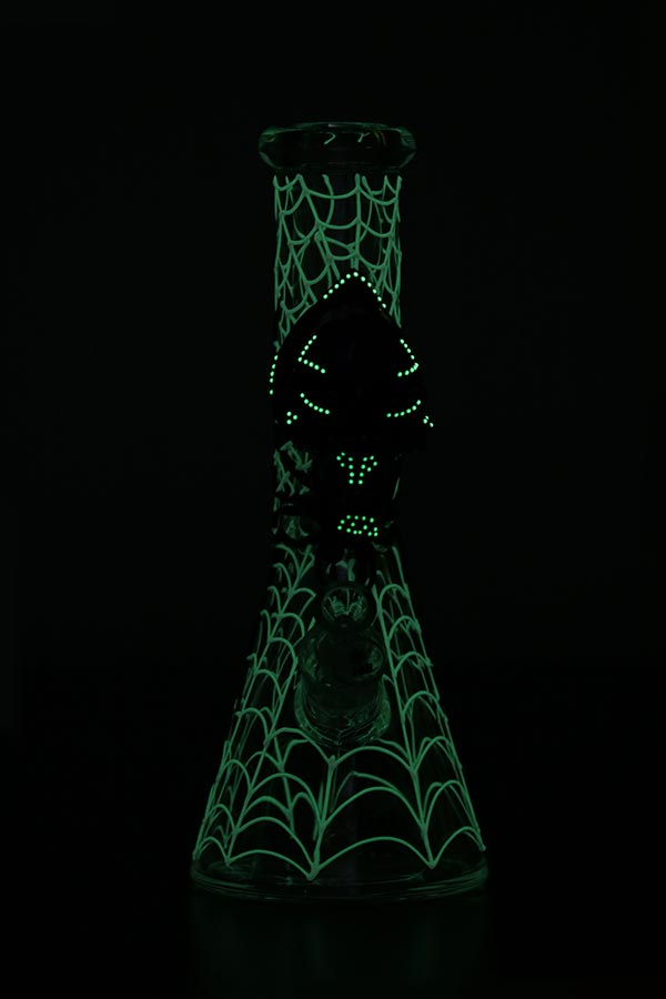 ST030 | 12.5 inch 3D-Wrap Glow-In-The-Dark Venom Beaker