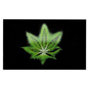 Green Leaf Flag