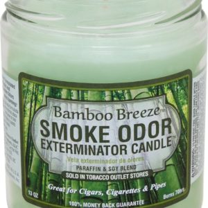 Smoke Odor 13oz. Candle - Bamboo Breeze