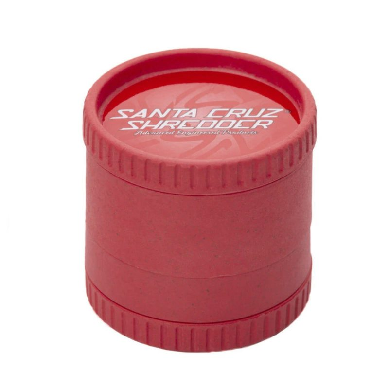 Santa Cruz Shredder 4-Piece Hemp Grinder